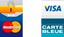 Paiement sécuriser - Mastercard, Visa, Carte de crédit, Paypal